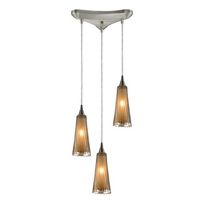 Elk Lighting Freeport 3 Light Pendant