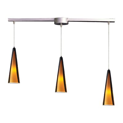 Elk Lighting Desert Winds 3 Light Linear Pendant