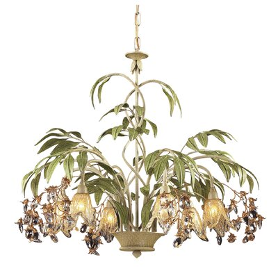 Huarco 6 Light Chandelier