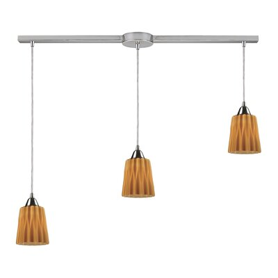 Elk Lighting Vuelta 3 Light Linear Pendant