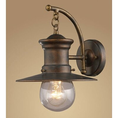 Wayfair External Wall Lights : Elk Lighting Maritime 1 Light Outdoor Wall Lantern & Reviews Wayfair
