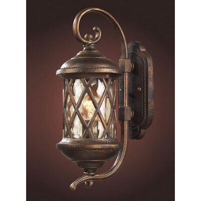Elk Lighting Barrington Gate 1 Light Outdoor Wall Lantern