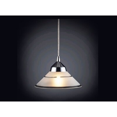 Elk Lighting Refraction 1 Light Mini Pendant