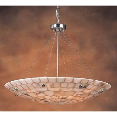Elk Lighting Spanish Mosaic 8 Light Inverted Pendant