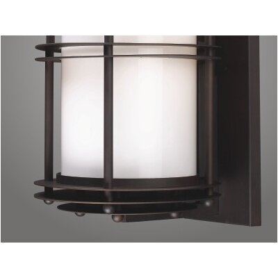 "Elk Lighting Burbank 11""  Outdoor Wall Lantern in Clay Bronze"