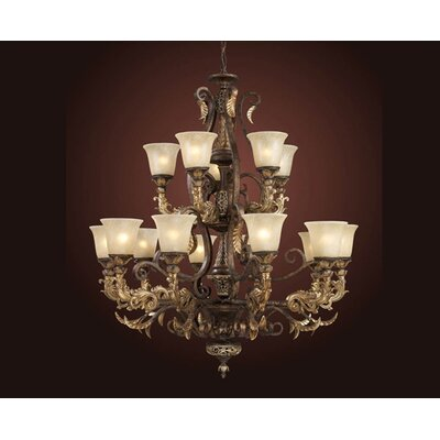 Elk Lighting Trump Home Regency 15 Light Chandelier
