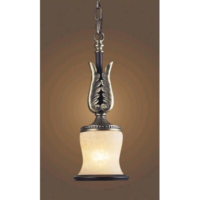 Elk Lighting Georgian Court 1 Light Mini Pendant