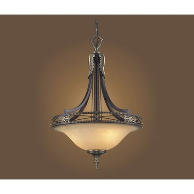 Elk Lighting Georgian Court 3 Light Inverted Pendant