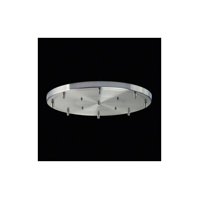Elk Lighting Illuminare Accessories Eight Light Round Pan in Satin Nickel