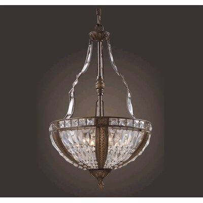 Elk Lighting Trump Home Millwood 6 Light Inverted Pendant