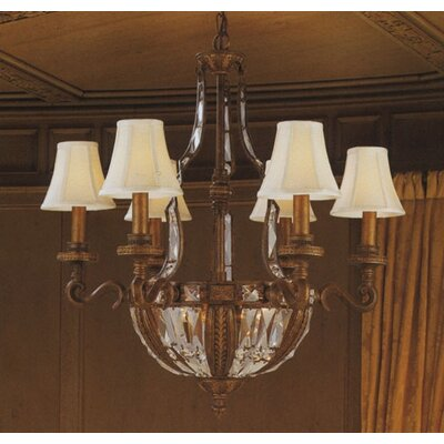 Trump Home Millwood Ten Light Chandelier