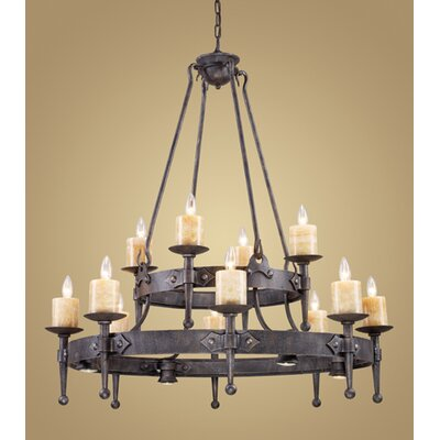 Outdoor Rustic Chandelier | Wayfair