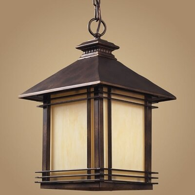 Elk Lighting Blackwell 1 Light Outdoor Hanging Lantern