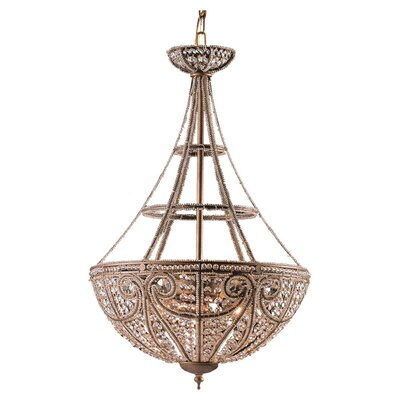 Elk Lighting Elizabethan 4 Light Inverted Pendant