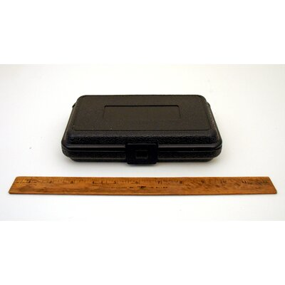 Platt Blow Molded Case without Handle in Black: 5 x 8 x 1.75