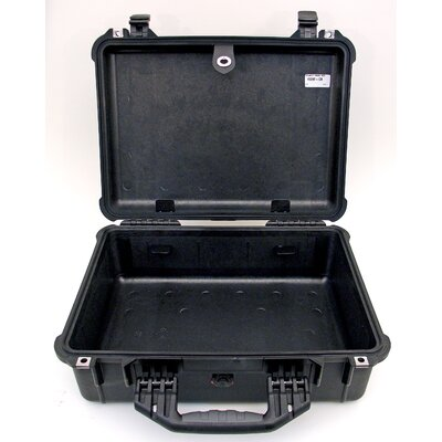 Platt Case in Black: 15.44 x 19.13 x 7.56
