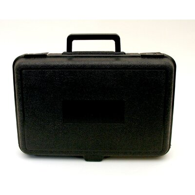Platt Blow Molded Case in Black: 9 x 13.5 x 3.25