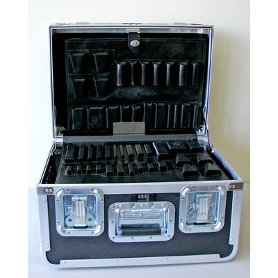 Platt Guardsman ATA Tool Case with Wheels and Telescoping Handle: 14 x 19.5 x 12.5