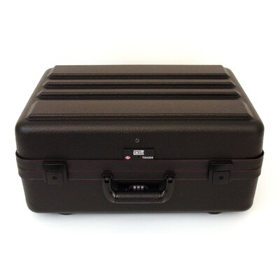 Platt Ultimate Polyethylene Tool Case with Black Hardware in Black: 14 x 19 x 9
