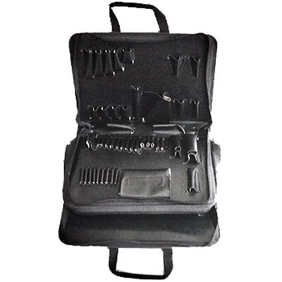 Buffalo Case Company Sewn Tool Case in Black: 13 x 18 x 6