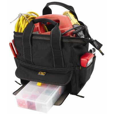 "Platt CLC Tool Bag: 12 Pocket Large Traytote Tool Bag: 12"" H x 12"" W x 8"" D"