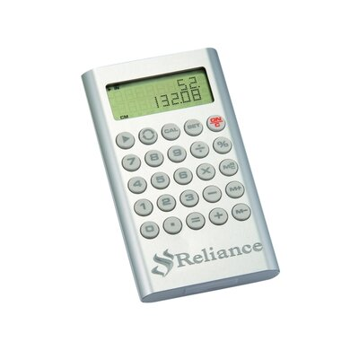 "Chass ""Numbers"" Silver Calculator Plus"