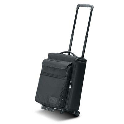 "Jelco Padded Hard Side Wheeled Projector Case with Removable Laptop Computer Case: 21.5"" H x 15"" W x 11.5"" D"