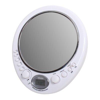 Jensen AM/FM Alarm Clock Shower Radio