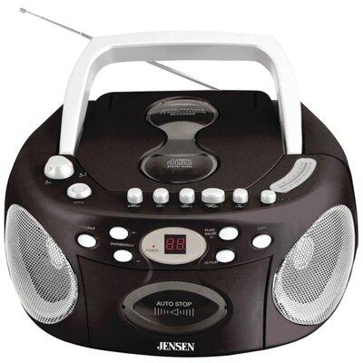 Jensen Portable Stereo Compact Disc Cassette Recorder