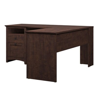 Bush Industries Buena Vista L-Desk with Hutch