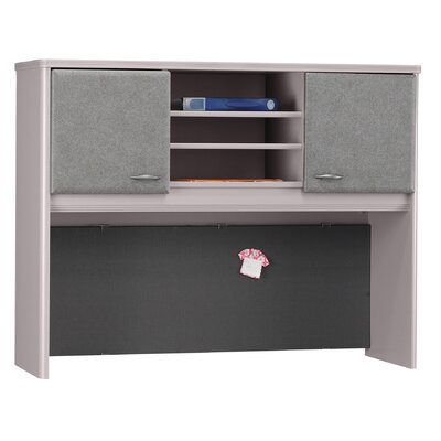 "Bush Industries Series A 36.5"" H x 47.5"" W Desk Hutch"