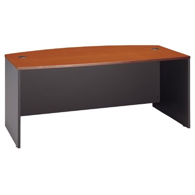 "Bush Industries Series C: 29.88"" Bow Front Desk"