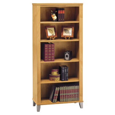 "Bush Industries Somerset 65"" H Five Shelf Bookcase"