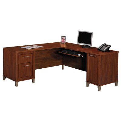 Bush Business Furniture Somerset Computer Desk Amp Reviews