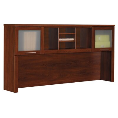 "Bush Industries Somerset 35.8"" H x  71"" W  Desk Hutch"