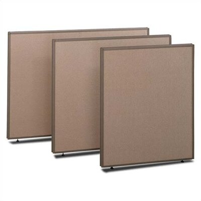 "Bush Industries ProPanel 42.87"" x 48"" One Panel Partition"