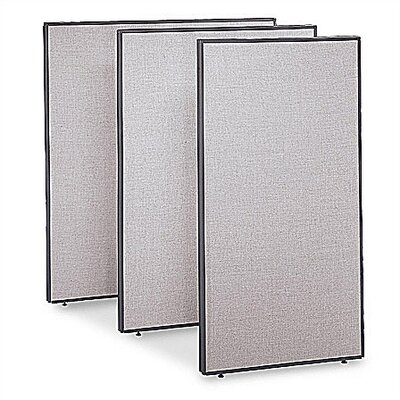 "Bush Industries ProPanel Collection-  Extra Tall 60"" W Privacy Panel"
