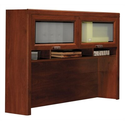 "Bush Industries Tuxedo 39.61"" H x 59.5"" W Desk Hutch"