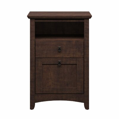 Bush Industries Buena Vista 2-Drawer Pedestal Filing Cabinet