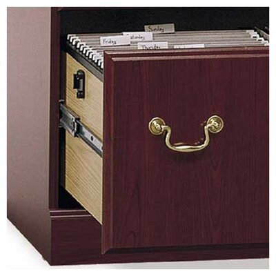Bush Industries Saratoga Executive Collection - Lateral File in Cherry