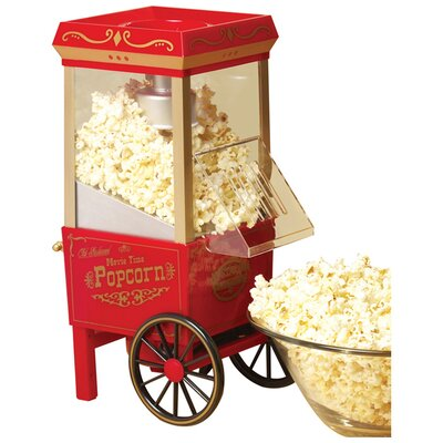 Nostalgia Electrics Old Fashioned 3.5 Ounce Movietime Hot Air Popcorn Maker at Sears.com