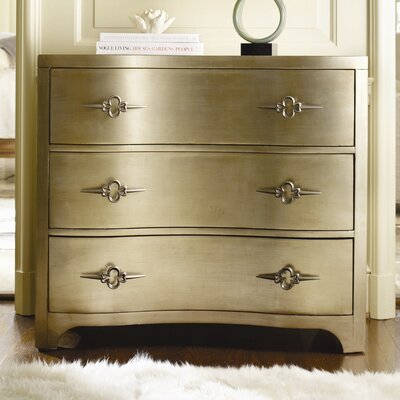 Sanctuary 3 Drawer Shaped Front Dresser