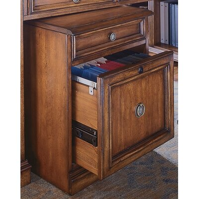 Hooker Furniture Brookhaven Mobile File in Medium Clear Cherry