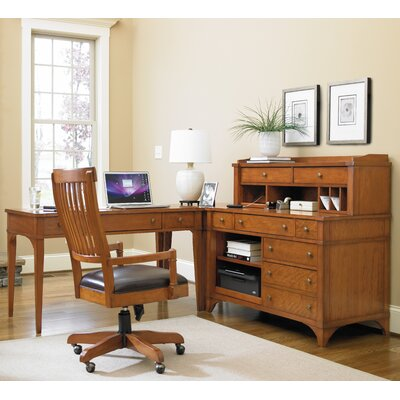 Hooker Furniture Abbott Place L-Shape Desk Office Suite