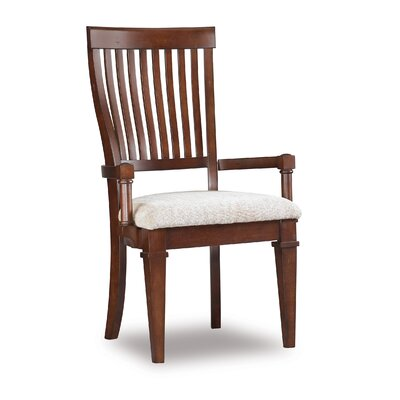Abbott Place Slat Back Arm Chair