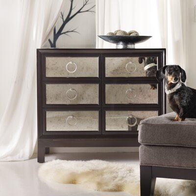 Hooker Furniture Melange 6 Drawer Mirrored Front Chest