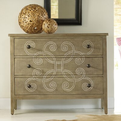 Hooker Furniture Melange Curlacue 3 Drawer Chest