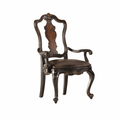 <strong>Hooker Furniture</strong> Grandover Splatback Leather Side Chair