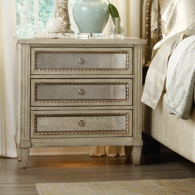 Hooker Furniture Sanctuary 3 Drawer Nightstand
