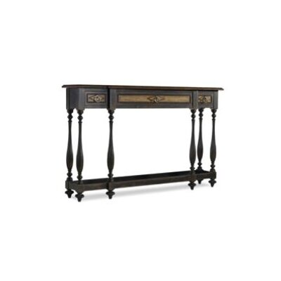 Three Drawer Thin Console Table